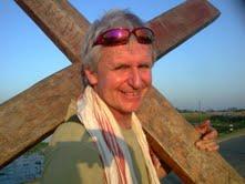 Lindsay Hamon and cross