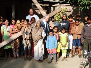 Walking with the cross in Assam